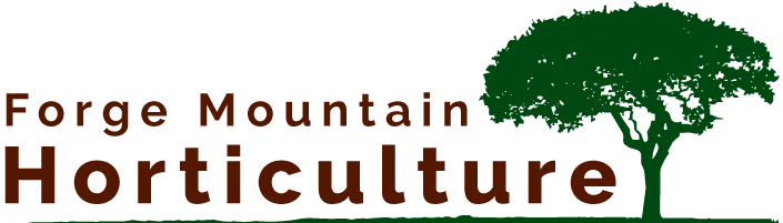 Forge Mountain Horticulture logo - link to homepage